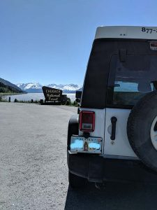Alaska Jeep Rental Pop Up Camper