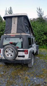 Alaska Jeep Rental Pop Up Jeep