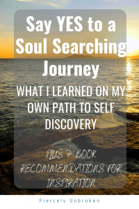 Soul Searching Journey Pin