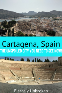 Cartagena Spain Pinterest Graphic