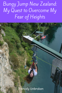 bungy jump taupo, new zealand